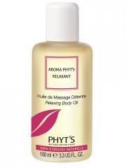 Phyt's Aroma Phyt's Relaxant Huile de Massage Détente Bio 100 ml - Flacon 100 ml
