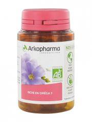 Arkopharma Arkogélules Huile de Lin Bio 60 Gélules - Boîte 60 gélules