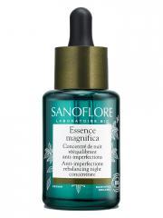 Sanoflore Essence Magnifica Concentré Botanique de Nuit Rééquilibrant 30 ml - Flacon compte goutte 30 ml