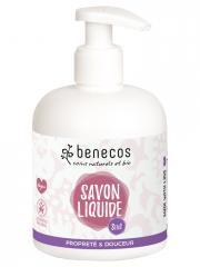 Benecos Savon Liquide 3en1 Propreté et Douceur 300 ml - Flacon-Pompe 300 ml