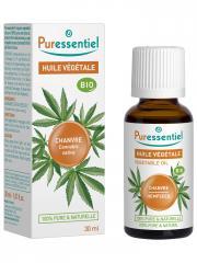 Puressentiel Huile Végétale Chanvre (Cannabis sativa) Bio 30 ml - Flacon 30 ml