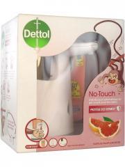 Dettol No-Touch Kit Pamplemousse 250 ml - Kit 1 Distributeur automatique + 1 recharge 250 ml + 2 piles AA