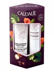 Caudalie Duo Hiver Crème Mains et Ongles 30 ml + Soin des Lèvres 4,5 g - Etui 2 produits