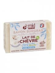 MKL Green Nature Lait de Chèvre Bio Savon Surgras Sans Parfum 100 g - Pain 100 g