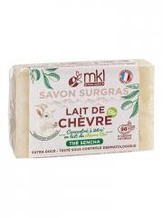 MKL Green Nature Lait de Chèvre Bio Savon Surgras Thé Sencha 100 g - Pain 100 g