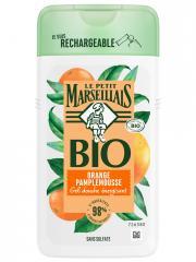 Le Petit Marseillais Gel Douche Énergisant Orange Pamplemousse Bio 250 ml - Flacon 250 ml