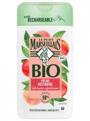 Le Petit Marseillais Gel Douche Rafraîchissant Pêche Nectarine Bio 250 ml - Flacon 250 ml