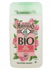 Le Petit Marseillais Gel Douche Rafraîchissant Rose Sauvage Bio 250 ml - Flacon 250 ml