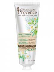 Mademoiselle Provence Crème Mains Confort Amande Douce & Fleur d'Oranger 75 ml - Tube 75 ml