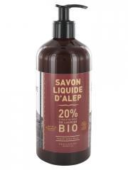 La Corvette Savon Liquide d'Alep Bio 500 ml - Flacon-Pompe 500 ml