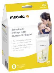 Medela Sachets de Conservation pour Lait Maternel 180 ml x 50 - Boîte 50 sachets de 180 ml
