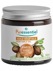 Puressentiel Huile Végétale Karité (Butyrospermum parkii) Bio 100 ml - Pot 100 ml