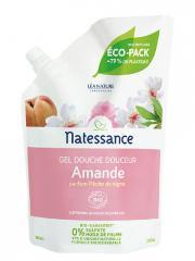 Natessance Gel Douche Douceur Amande Bio Recharge 650 ml - Sachet 650 ml