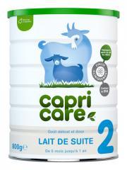 Capricare Lait de Chèvre 2 de 6 Mois à 1 An 800 g - Pot 800 g