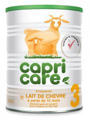 Capricare Lait de Chèvre 3 Dès 12 Mois 800 g - Pot 800 g