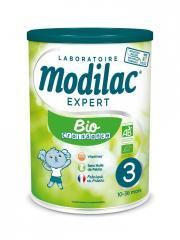Modilac Expert Bio 3 de 10 Mois à 3 Ans 800 g - Pot 800 g