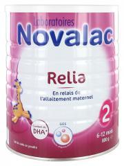 Novalac Relia 2 6-12 Mois 800 g - Boîte 800 g