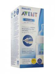 Avent Anti-Colic Valve AirFree Biberon 125 ml 0 Mois et + - Boîte 1 biberon de 125 ml