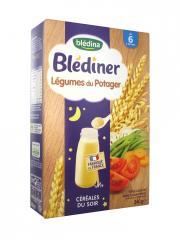 Blédina Blédîner Céréales du Soir Légumes du Potager de 6 à 36 Mois 240 g - Boîte 240 g