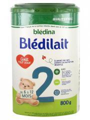 Blédina Blédilait 2ème Âge de 6 Mois à 1 An 800 g - Boîte 800 g