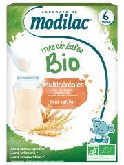 Modilac Mes Céréales Bio Dès 6 Mois Multicéréales 250 g - Boîte 250 g