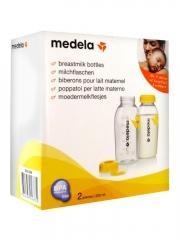 Medela Biberons Pour Lait Maternel Lot de 2 x 250 ml - Boîte 2 biberons