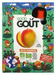 Good Goût Kidz 99,9% de Mangue Bio 4 Gourdes - Boîte 4 gourdes de 90 g