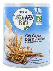 Nestlé Naturnes Bio Céréales Blé & Avoine dès 6 Mois 240 g - Boîte 240 g