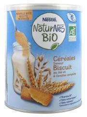 Nestlé Naturnes Bio Céréales Saveur Biscuit dès 6 Mois 240 g - Boîte 240 g
