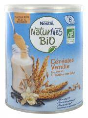 Nestlé Naturnes Bio Céréales Vanille Dès 6 Mois 240 g - Boîte 240 g