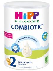 HiPP Combiotic 2 Lait de Suite dès 6 Mois Bio 800 g - Boîte 800 g