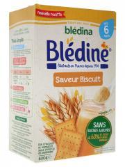 Blédina Blédine Saveur Biscuit dès 6 Mois 400 g - Boîte 400 g