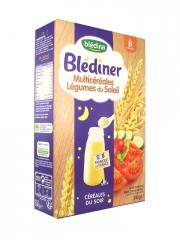 Blédina Blédîner Céréales du Soir Multicéréales Légumes du Soleil de 8 à 36 Mois 240 g - Boîte 240 g