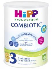 HiPP Combiotic 3 Croissance de 10 Mois à 3 Ans Bio 800 g - Boîte 800 g