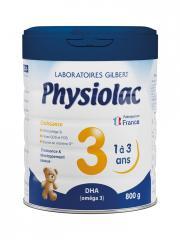 Physiolac Croissance 3 1 à 3 ans 800 g - Pot 800 g