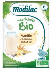 Modilac Mes Céréales Bio Dès 6 Mois Vanille 250 g - Boîte 250 g