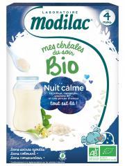 Modilac Mes Céréales du Soir Bio Dès 4 Mois Nuit Calme 250 g - Boîte 250 g