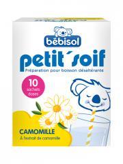 Bébisol Petit'Soif Camomille 10 Sachets - Boîte 10 sachets de 5 g