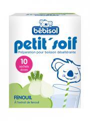Bébisol Petit'Soif Fenouil 10 Sachets - Boîte 10 sachets de 5 g