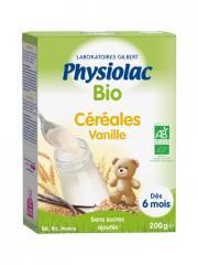 Physiolac Bio Céréales Vanille Dès 6 Mois 200 g - Boîte 200 g