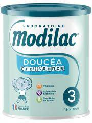 Modilac Doucéa Croissance 3 De 12 À 36 Mois 800 g - Boîte 800 g