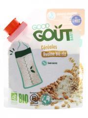 Good Goût Avoine Blé Riz dès 6 Mois Bio 200 g - Sachet 200 g