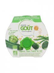 Good Goût Le Petit Plat Vert Légumes Verts Perles de Blé dès 12 Mois Bio 220 g - Boîte 220 g