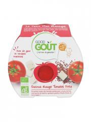 Good Goût Le Petit Plat Quinoa Rouge Tomates Feta dès 12 Mois Bio 220 g - Boîte 220 g