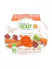 Good Goût Le Petit Plat Orange Boeuf Carottes Orge Perlé dès 12 Mois Bio 220 g - Boîte 220 g
