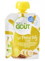 Good Goût Le Petit Déj Poire dès 6 Mois Bio 70 g - Gourde 70 g