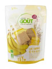 Good Goût Carrés Banane Dès 8 Mois Bio 50 g - Sachet 50 g