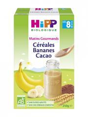 HiPP Céréales Bananes Cacao dès 8 Mois Bio 250 g - Boîte 250 g