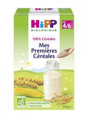 HiPP Mes Premières Céréales dès 4/6 Mois Bio 250 g - Boîte 250 g