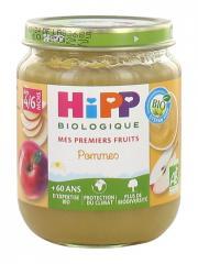 HiPP Mes Premiers Fruits Pommes dès 4/6 Mois Bio 125 g - Pot 125 g